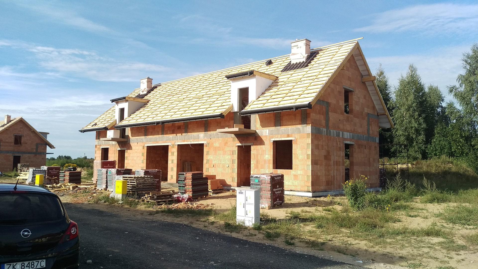 domki szeregowe konikowo